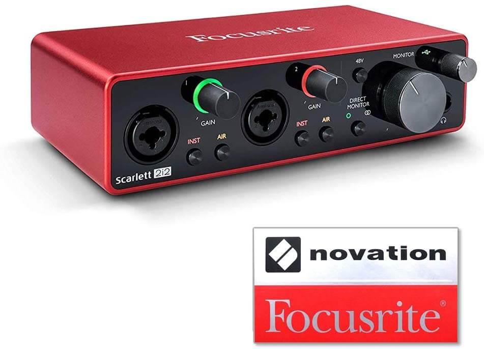 Focusrite Scarlett 2i2 3rd Genの構造・デザイン